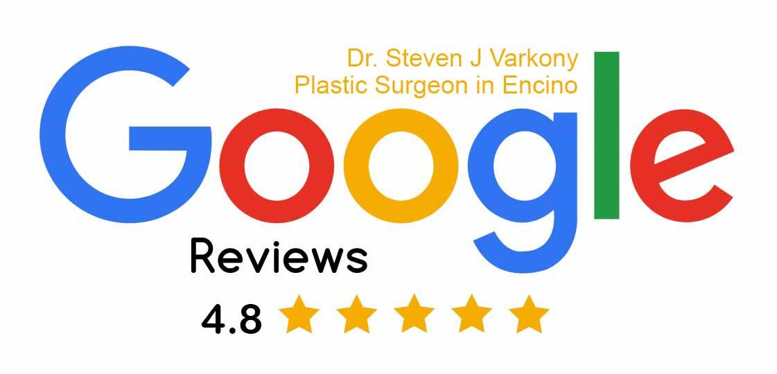 Google reviews for Dr. Varkony